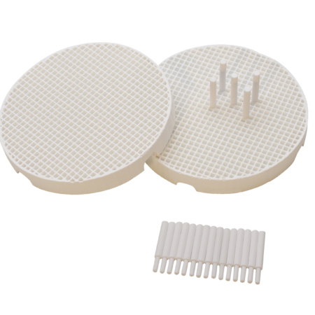 Honeycomb Soldering Board with Ceramic Pins